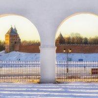 Закат в старинном городе :: Елизавета Вавилова