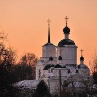 Закат в Рождество :: Андрей Куприянов