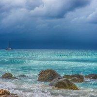 Морской пейзаж. Побережье острова Аруба. :: Gene Brumer