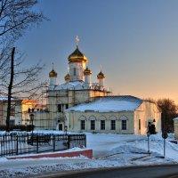 Краски заката в  Рождество . :: Андрей Куприянов