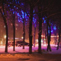 огни родного района :: Юля Городнова