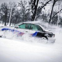 Зимний дрифт :: Евгений Бондаренко