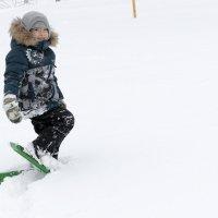 Лыжник :: Сергей Яценко