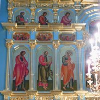 Фрагмент  Главного иконостаса  Воскресенского собора :: Galina Leskova