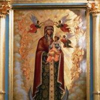 """Икона """"Пресвятая  Богородица с Предвечным Младенцем «Ангелов  Радосте», :: Galina Leskova"""