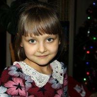 Маруся пришла  в  гости на  РОЖДЕСТВО...2015 год. 7 января. :: Валерия  Полещикова