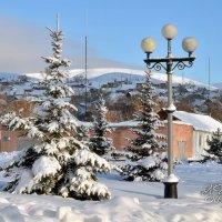 Зима в городе. :: Анатолий