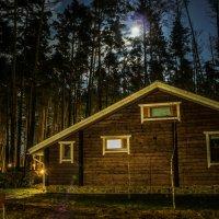 луна над домиком :: Наталия Квас