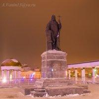 Памятник Патриарху Никону в Саранске. :: Андрей Ванин