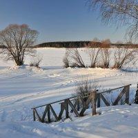 Лестница  к реке :: Андрей Куприянов