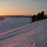 Река Чуна, скованная льдом :: Антон Гаврилов
