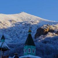 Зимнее утро на горе Бештау :: Николай Николенко