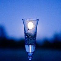 Луна в бокале с мартини) :: Alena Al'eva