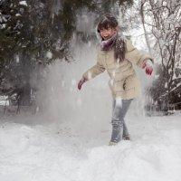 Снегопад ... :: Vadim77755 Коркин
