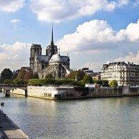 ПАРИЖ... Собор Парижской Богоматери. :: Александр Яковлев