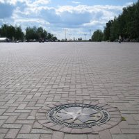 Нулевой километр автодорог Удмуртской республики (Ижевск) :: muh5257