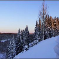 Зимний пейзаж :: Иван Клещин