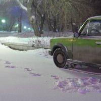 Одинокие следы :: Валерий Кабаков