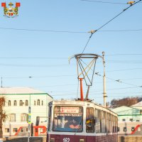 Смоленск. Трамвай КТМ-5М3 (71-605). Маршрут № 3 на Вокзальном кольце :: Алексей Шаповалов Стерх