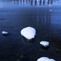 туман над водой. телецкое озеро, республика алтай :: роман фарберов