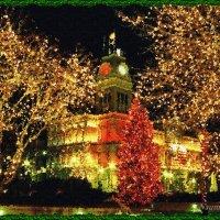 Огни Новогоднего города :: Лидия (naum.lidiya)