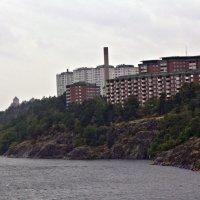 Выход из гавани Стокгольма :: Александр Рябчиков