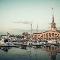 Морской вокзал :: Юлия Небышинец