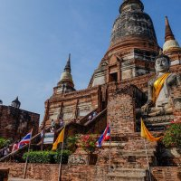 Тайланд. Храмы Аюттайи - древней столицы Сиама. XII в. :: Rafael