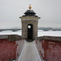 Часовая башня Государева бастиона :: Елена Павлова (Смолова)