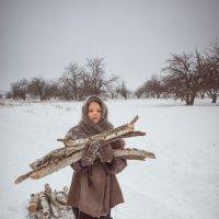 Зимой в деревне :: оксана киселева