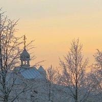 тёплое небо холодной зимой :: Елена