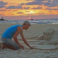 Я замок свой построю на песке... :: Татьяна Сухова