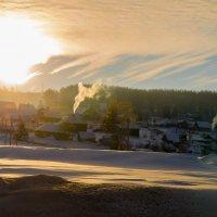 Утро в деревне. :: Сергей Бурнышев