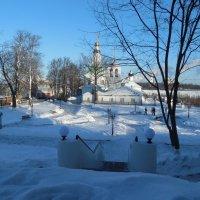 белый снег, белый Храм :: Мила