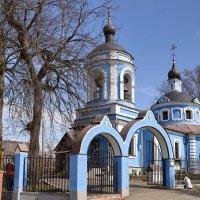 Храм в Лайково :: Сергей Сёмин