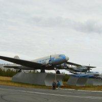 Музей авиации под открытым небом в г. Салехард :: Tata Wolf