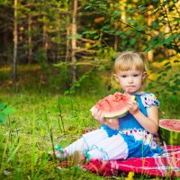 арбузное лето :: Анна Кулиева