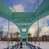 Новый мост через Черкизовский пруд :: Дмитрий Сушкин