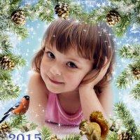 Календарь - магнит  на 2015 год :: Oxana Kilina