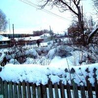 Зимний пейзаж в посёлке :: Владимир Ростовский