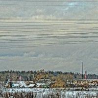 фабричный посёлок :: Михаил Жуковский