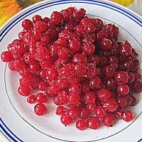 Мороженая , красная смородина . :: Мила Бовкун