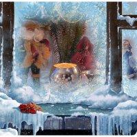Нарисуй мороз на окне заиндевелом... :: Валентина Колова