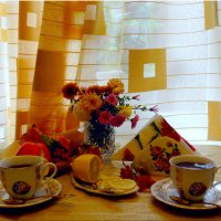 Чай с лимоном... :: Тамара (st.tamara)