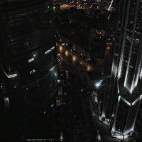 Москва-Сити. Вид с 58 этажа смотровой площадки на ночной город. :: Екатерина Артамонова
