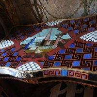 Стеклярусный кабинет. Уникальный столик - шедевр декоративно-прикладного искусства :: Елена Павлова (Смолова)