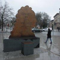 Памятник отцу двоичного исчисления. Лейбниц :: Gennadiy Karasev