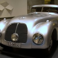 Mercedes 540K  Streamliner, 1938 :: Georg Förderer
