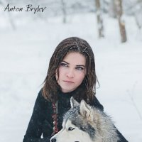 Зима, хаски :: Саша Бош