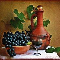 Виноградный натюрморт :: Лидия (naum.lidiya)